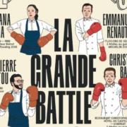 Pour le Festival de Cannes – Nespresso – oppose 3 chefs trois étoiles Michelin à 3 chefs sélectionnés par le Fooding