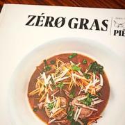 Zéro Gras – le nouveau livre du chef Jean-François Piège » sans gras mais pas sans saveurs » inspiré par son régime