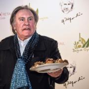 Pour découvrir la gamme de produits alimentaires signés Gérard Depardieu il vous faudra aller en Russie