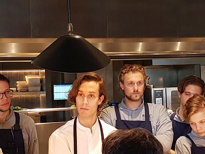 chef suedois Fredrik Berselius