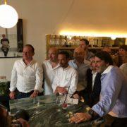 Le chef Fabien Fage inaugurait hier soir ses cuisines au restaurant The Marcel nouvelle version à Sète