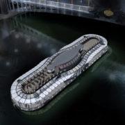 Ducasse-sur-Seine, le seul bateau restaurant sur la Seine où la cuisine sera faite sur place