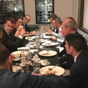 À la suite de sa visite officielle en Australie le chef Serge Vieira se dit » impressionné par la capacité d'écoute et de travail du chef de l'État Français «