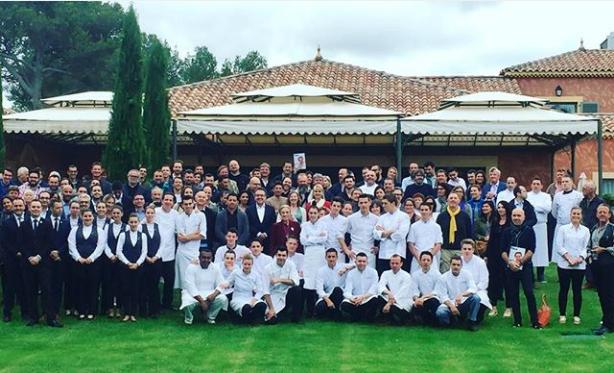 Avec le coeur des chefs au castellet la table - La table de christophe valenciennes menu ...