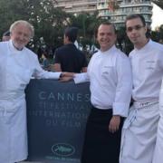 Pierre Gagnaire a signé hier soir le dîner de clôture du festival de Cannes – Les chefs aperçus sur la Croisette