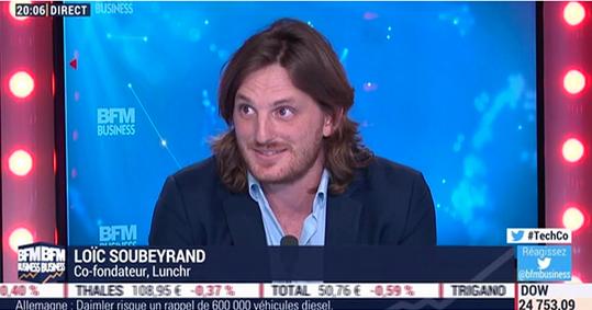 Loïc Soubeyrand lunchr