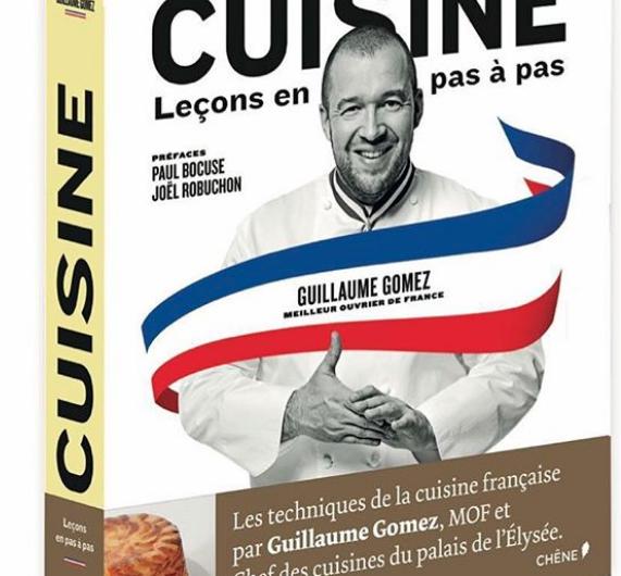 livre Guillaume Gomez MOF