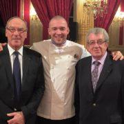 Avec cette photo 40 ans de cuisine à L'Elysée, un morceau de l'histoire de France
