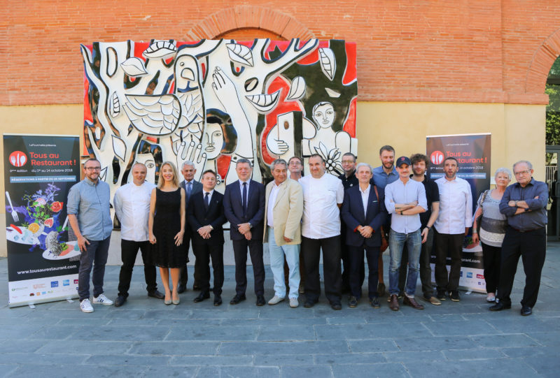 tous au restaurant occitanie 2018