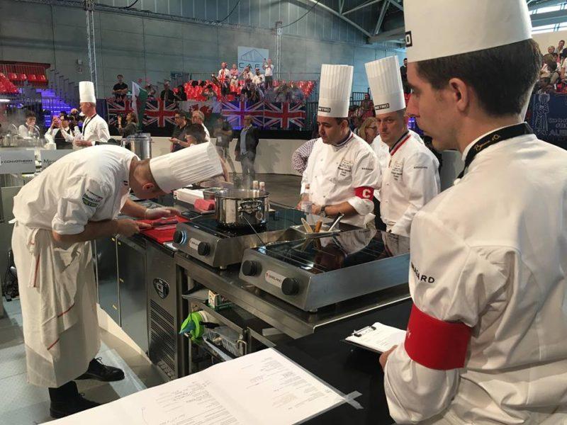 Bocuse d or 2018 turin italie concours international cuisine - Commis de cuisine suisse ...