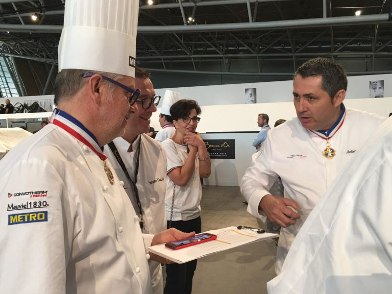 selection continentale du bocuse d'or chefs