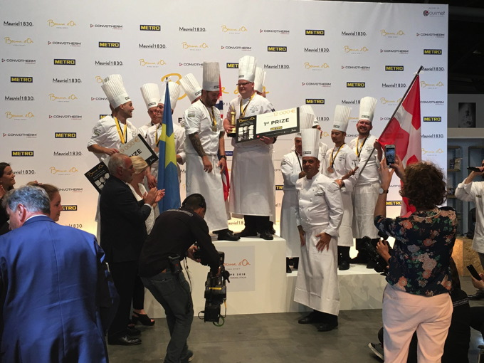 equipe norvege bocuse d'or 2018