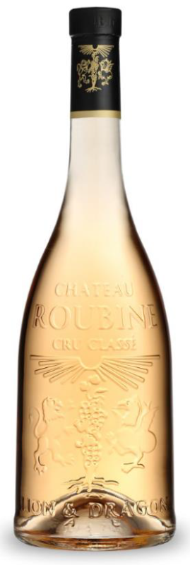 lion & dragon rose 2016 chateau roubine