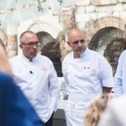 Nîmes – Franck Putelat ouvrait hier soir le restaurant » La Table du 2 by F. Putelat » au nouveau Musée de la Romanité