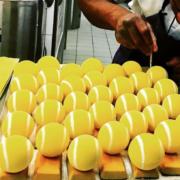 Les balles de tennis des pâtissiers, impressionnants trompe l'oeil