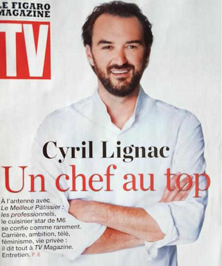 chef francais cyril lignac
