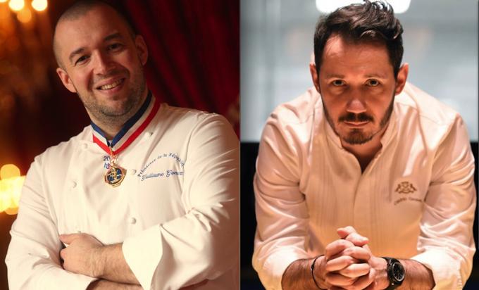 Guillaume Gomez et Cédric Grolet