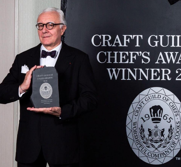 Craft Guild Of Chef's Awards Winner 2018