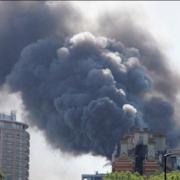 Le Mandarin Oriental de Londres victime d'un incendie, l'hôtel offrait une table signée Heston Blumenthal ( 2 étoiles au Michelin ) et l'autre par Daniel Boulud