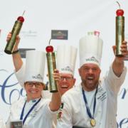 La Suède gagne la coupe européenne de la pâtisserie Turin 2018 devant la Belgique et la Suisse