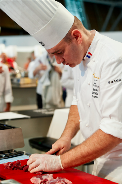chef candidat bocuse d'or france turin 2018