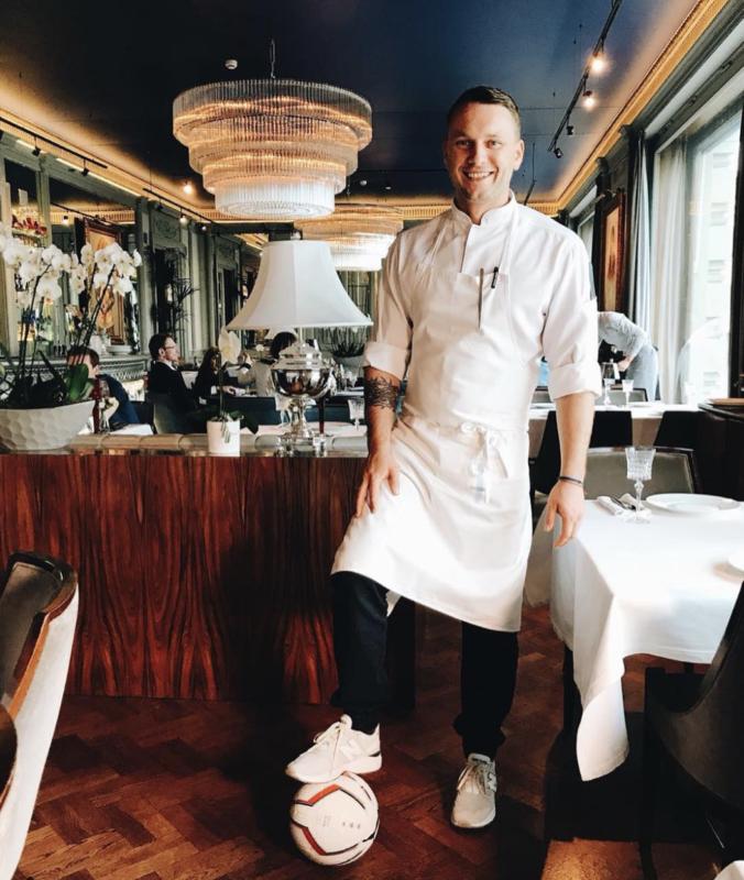 Chef Anton Kovalkov