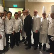 Morpheus – l'opening de l'hôtel et des restaurants avaient lieu aujourd'hui à Macau