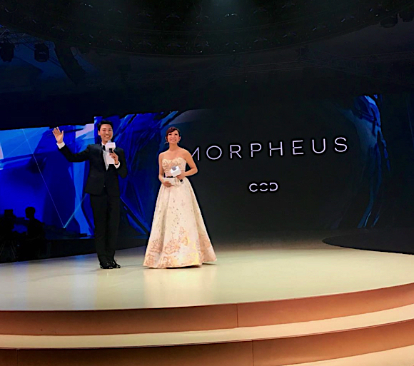 morpheus evenement opening