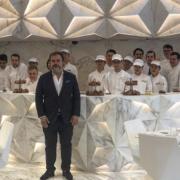 Découvrez la pâtisserie du chef Pierre Hermé à l'hôtel Morpheus designé par Zaha Hadid