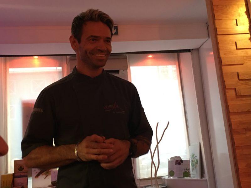chef Laurent Pichaureaux