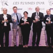 «Les Plumes d'or du vin et de la gastronomie 2018» par Les Grandes Tables du Monde se déroulait hier soir à Paris au Pavillon Cambon