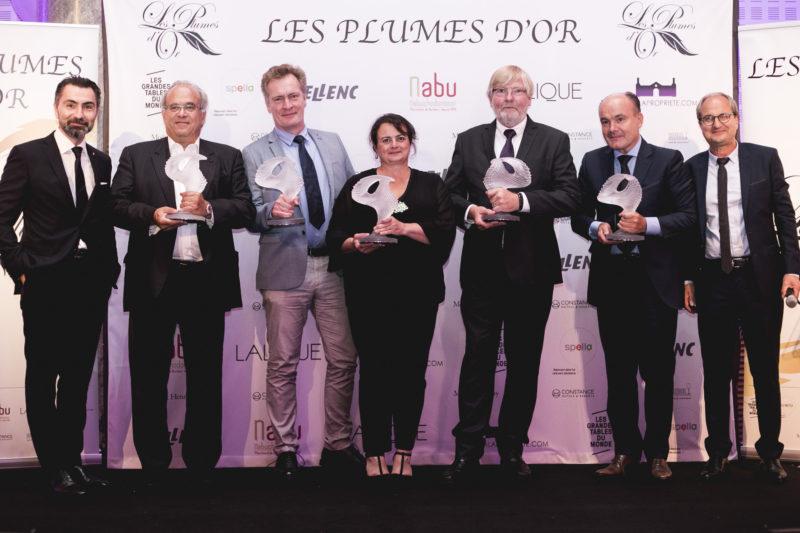 laureats plumes d'or 2018