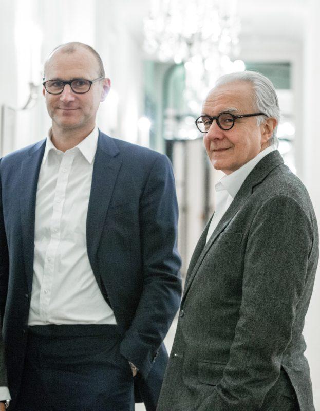 Xavier Alberti et Alain Ducasse