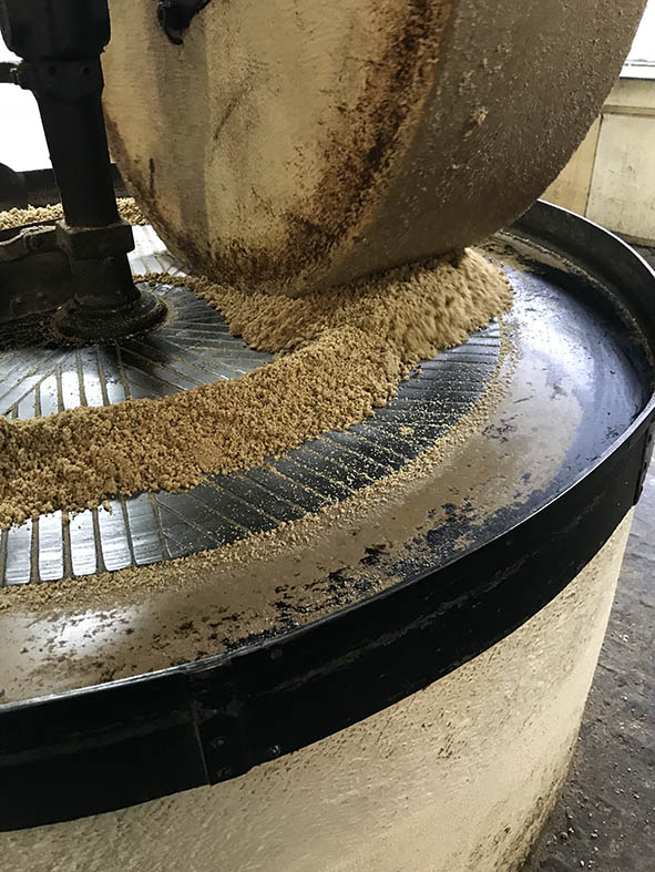 moulin de l'île preparation huile
