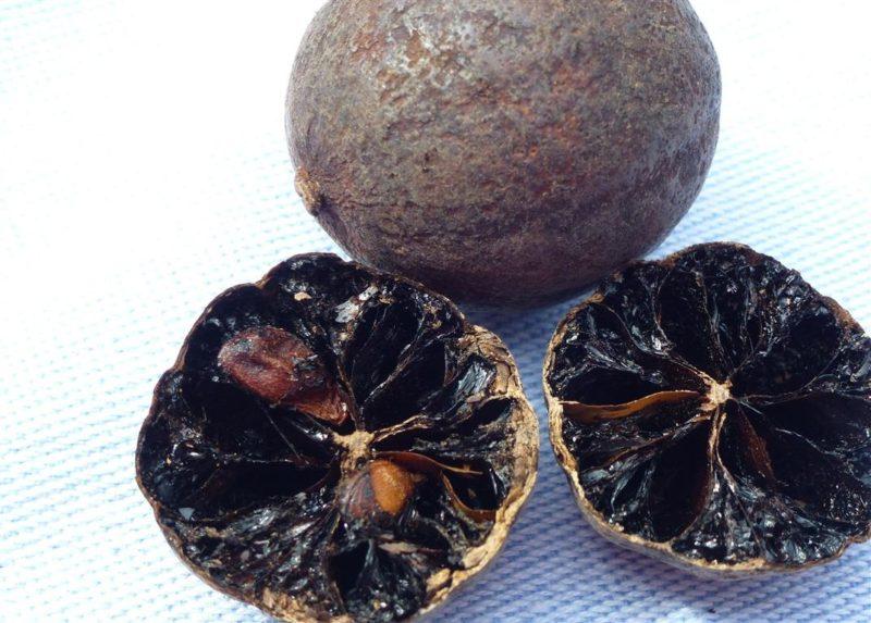 recette citron noir