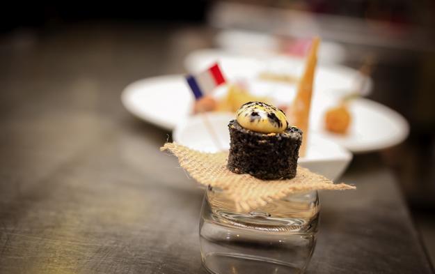 menu chef francais Mickaël Farina