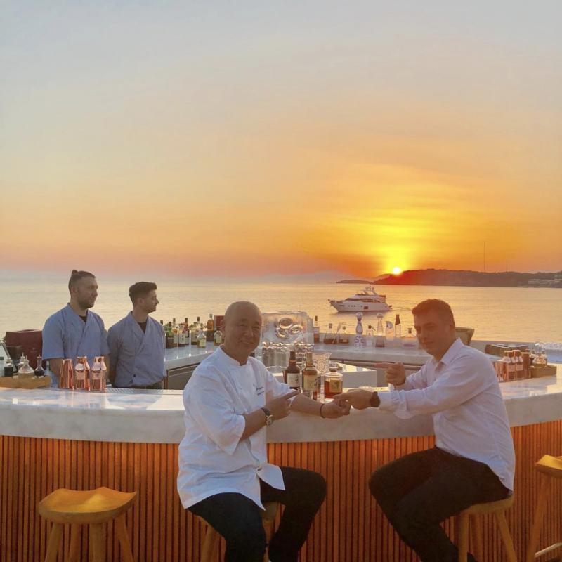 nobu chef atheness grece