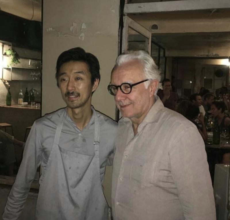 chef japonais atsushi tanaka