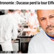 Le chef Ducasse perd la concession des restaurants de la Tour Eiffel, mais croisera sur la Seine dans quelques mois