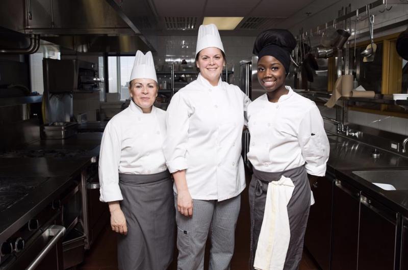 femmes chefs gastronomiques