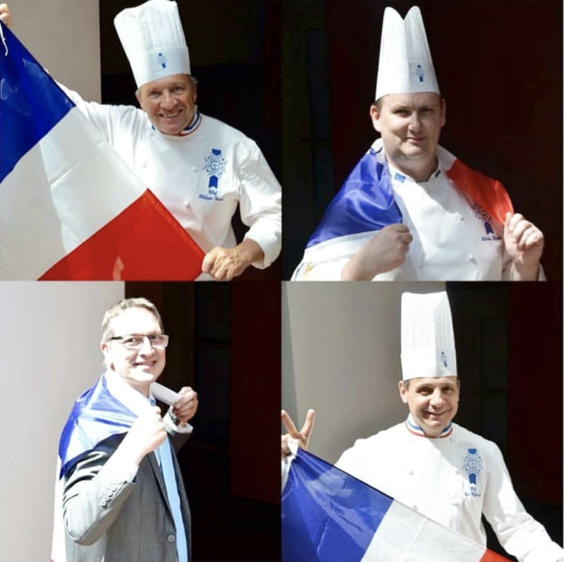 bleu blanc rouge chefs