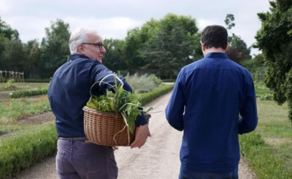 chef Romain Meder et Alain ducasse