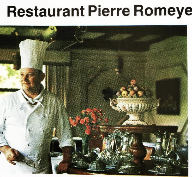 chef Pierre Romeyer