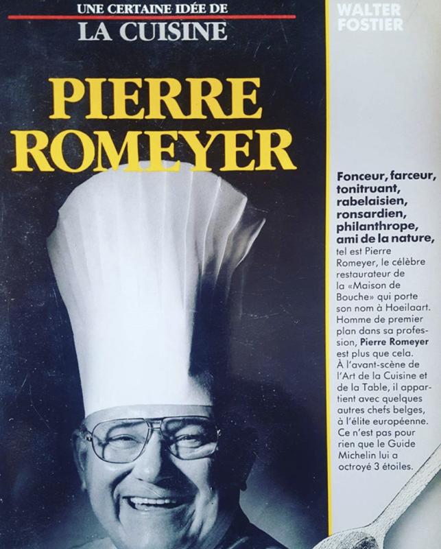 décès chef  Pierre Romeyer