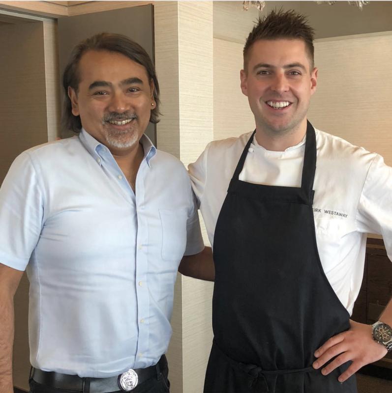 kirk westaway chef