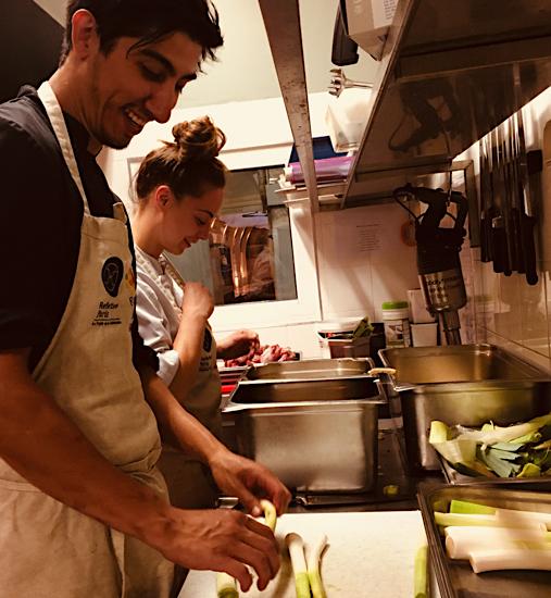 Refettorio Paris cuisine