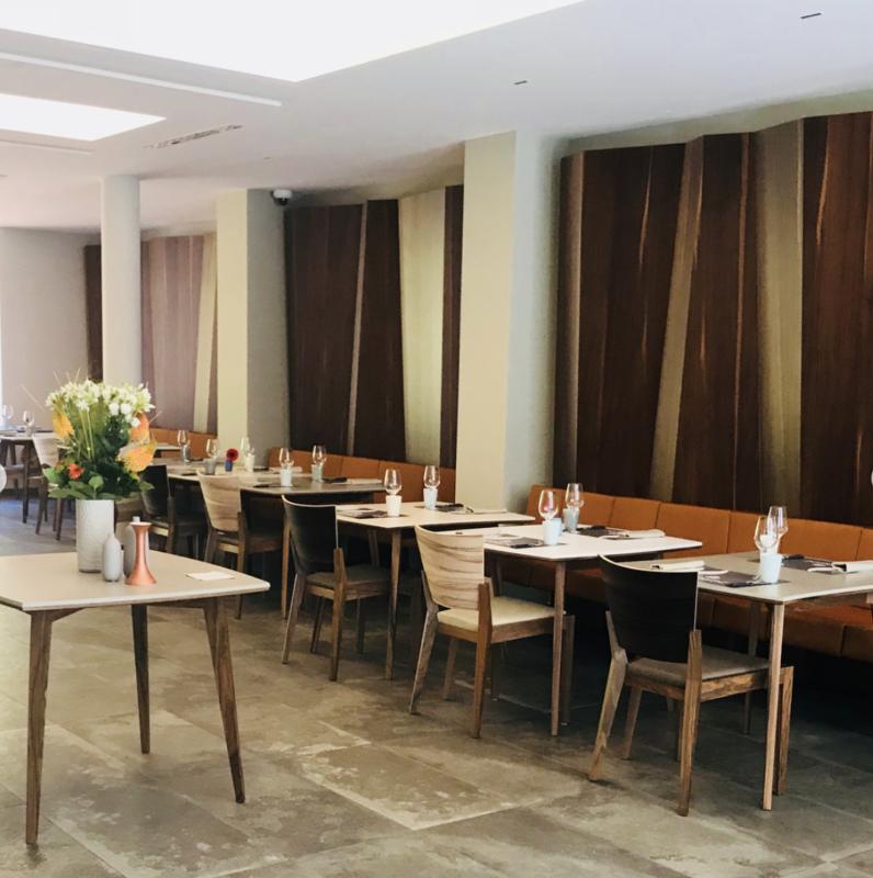 menu restaurant Serge Vieira
