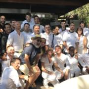 C'est hier se déroulait le premier déjeuner étoilé au Nikki Beach à Saint-Tropez – Gilles Goujon en cuisine