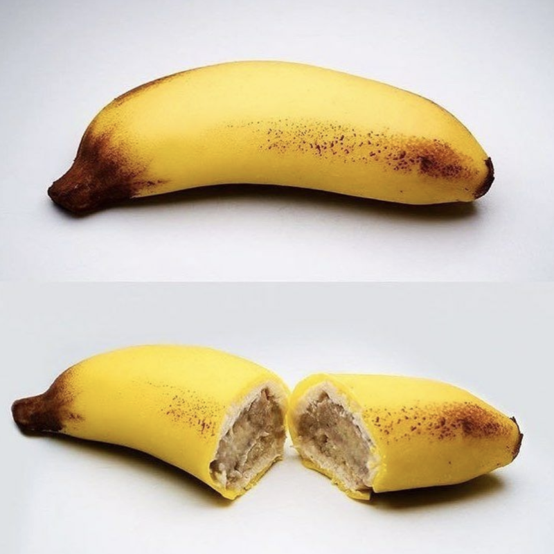 fruit banane trompe oeil