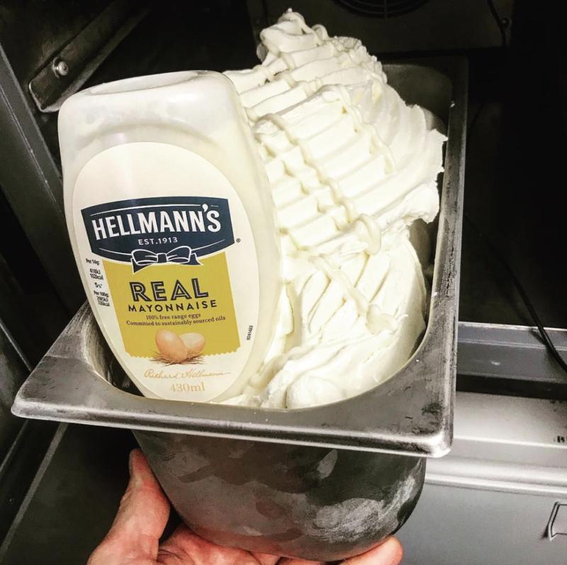 glace mayonnaise